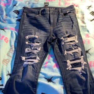 American Eagle Jeans Size: 14 Next Level Stretch